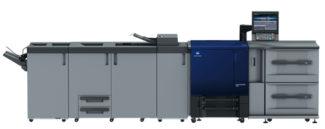 Der neue Accuriopress C83hc von Konica Minolta arbeitet mit der neuesten Generation des High-Chroma-Toners.
