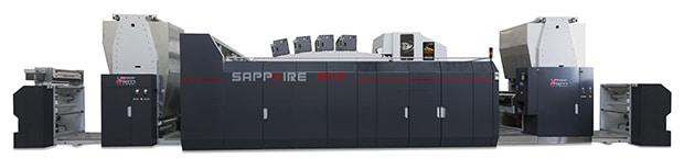 Der italienische Maschinenhersteller Uteco will sein Portfolio für die flexible Verpackungsproduktion weiter ausbauen und hat dafür eine neue Vereinbarung mit Kodak getroffen. Die beiden Unternehmen hatten schon bei der Sapphire Evo (im Bild) zusammengearbeitet.