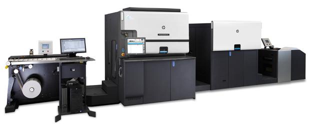 Insgesamt drei neue Digitaldruckmaschinen von HP sind am Hauptsitz der Barthel Gruppe in Essen in Betrieb genommen worden: zwei HP Indigo 6900 (im Bild) und eine HP Indigo 20000.