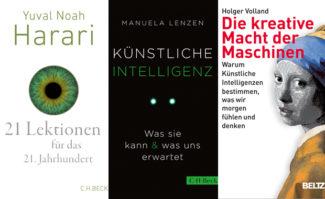 Digitalisierung & KI: aktuelle Buchtipps aus der print.de-Redaktion
