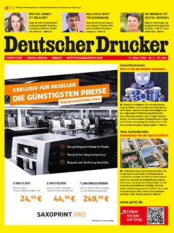 Produkt: Deutscher Drucker 5/2019