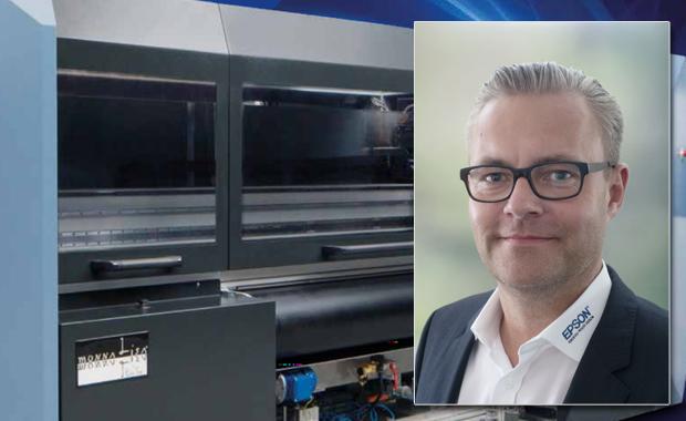 Ab 1. April ist Epson Deutschland für den Direktvertrieb der Monna-Lisa-Textildrucker-Serie in der DACH-Region verantwortlich. Key Account Manager für den Bereich ist Gerrit Schlottmann.