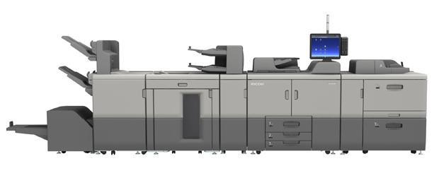 Ricoh hat die Markteinführung der Einzelblatt-Drucksystemreihe Ricoh Pro 8300 für den Schwarzweißdruck bekannt gegeben. Im Bild: die Ricoh Pro 8320S.