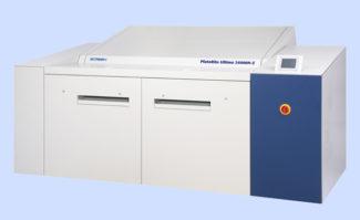 Screen GA hat den Formatbereich seiner Großformatbelichterserie Platerite Ultima 24000 (für Computer-to-Plate im Bereich 24 Seiten DIN A4) an die aktuelle Druckmaschinenentwicklung angepasst. Die Serie Platerite Ultima 24000N umfasst nun die Modelle X und S mit unterschiedlichem Durchsatz-Potenzial aufgrund verschiedener Belichtungsköpfe.