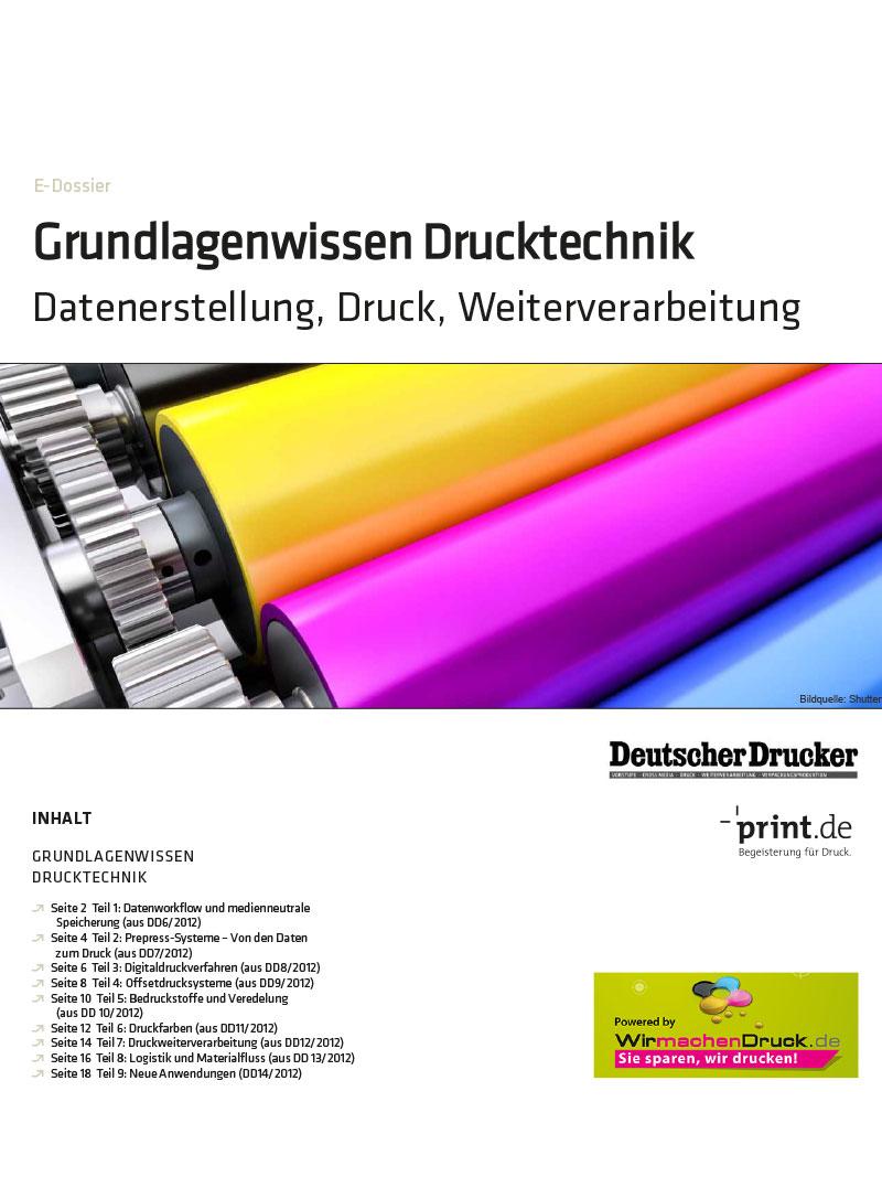 Produkt: Download » Grundlagenwissen Drucktechnik «