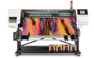 Der HP Stitch S500 (64 Zoll) gehört zu HPs neuer Maschinenreihe für den Textildruck. Das Modelle HP Stitch S1000 soll auf der Fespa in München erstmals vorgestellt werden.