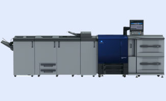 Digitaldruck: Die Auto Inspection Technology (AIT) unterstützt alle Produktionssysteme der Konica Minolta Accurio-Press-Serie mit IQ-501.