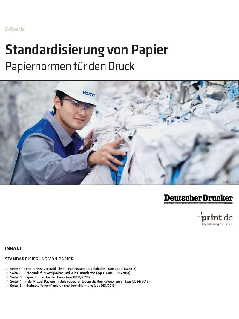 Produkt: Download » Standardisierung von Papier «