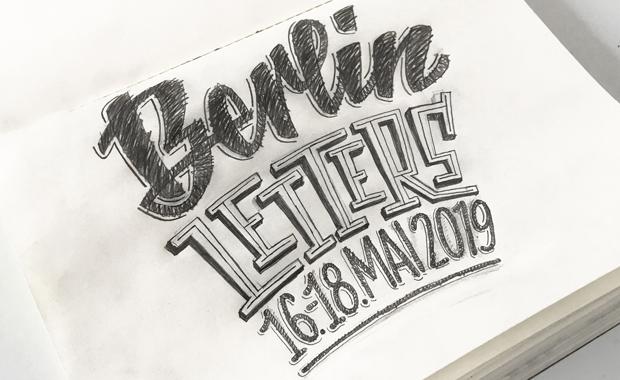 Typografie: Das Berlin Letters Festival findet im Colonia Nova, einem Event-Loft mit Dachterrasse im Herzen von Berlin-Neukölln, statt.