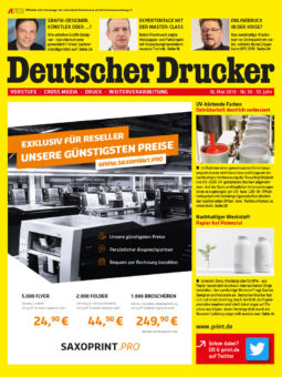 Produkt: PDF-Download: Deutscher Drucker 10/2019