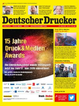 Produkt: Deutscher Drucker 11/2019