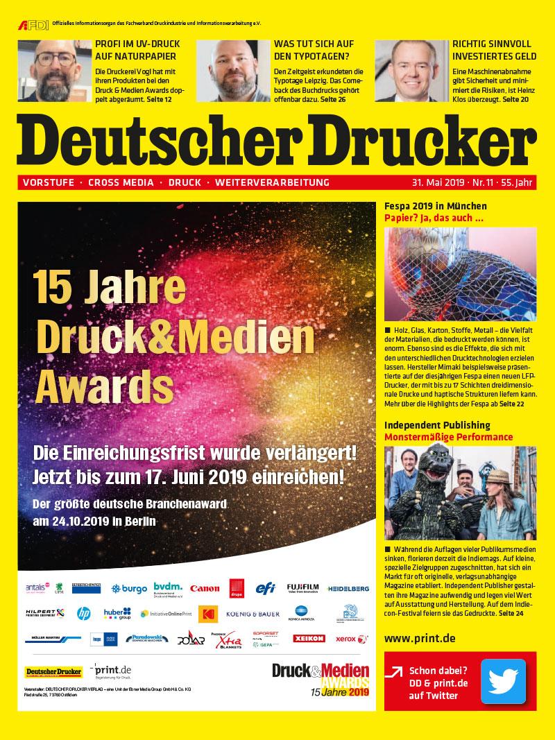 Produkt: Deutscher Drucker 11/2019 Digital