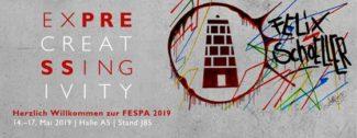 """Die Felix Schoeller Group wird auf der Fespa in München mehrere Neuheiten präsentieren und hat sich zudem für die Umsetzung des Mottos """"Express Creativity"""" den Urban-Art-Künster René Turrek dazu geholt."""