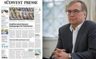 Thomas Brackvogel, Vorsitzender der Geschäftsführung der NPG: Auch weitere Tageszeitungen der Verlagsgruppe sollen schon bald die Vorzüge der ePaper-Lösung nutzen.
