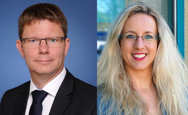 Druckindustrie: Andreas Schwarz und Diana Esser.