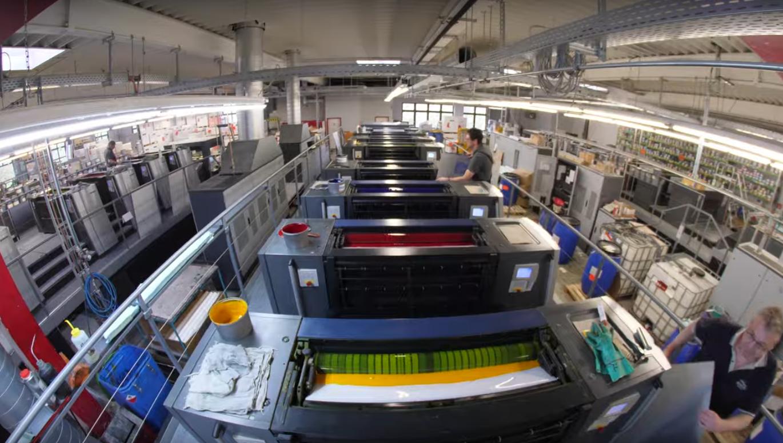 Heidelberg Speedmaster von Aribas Printing Machinery