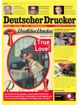 Produkt: PDF-Download: Deutscher Drucker 18/2019