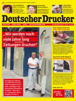 Produkt: PDF-Download: Deutscher Drucker 19/2019