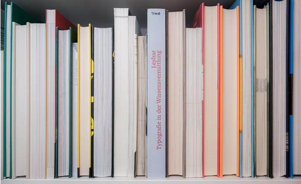 Beim Symposium in Wien wird auch das Buch »Lesbar – Typografie in der Wissensvermittlung« präsentiert, das über eine Crowdfunding-Kampagne finanziert werden konnte.