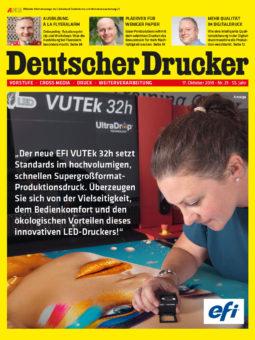 Produkt: PDF-Download: Deutscher Drucker 21/2019