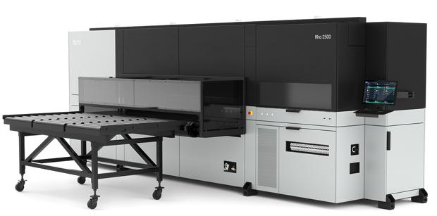 Durst Rho 2500 UV-Druck Flachbettdrucker Großformatdruck Large Format Printing