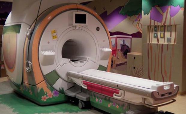 Druckindustrie: Adventure Series MRT von General Electrics Healthcare.
