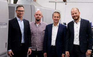 Paragon Group investiert in Ricoh Pro VC60000 Inkjet-Rollendrucksystem