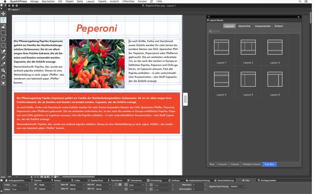 Mediendesign: Das neue Flex-Layout in Quark Xpress 2019 – ein gutes Argument für Kreative, die responsive Webseiten oder Apps gestalten wollen, sich aber nicht mit CSS-Code auskennen oder befassen möchten.
