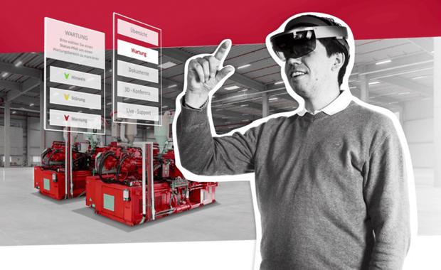 Druckindustrie: 3D-Visualisierung von Objekten und Industrieanlagen für Augmented-Reality-Anwendungen – nur einer von vielen zukunftsorientierten Geschäftsbereichen des ideenreichen Unternehmens aus Paderborn.