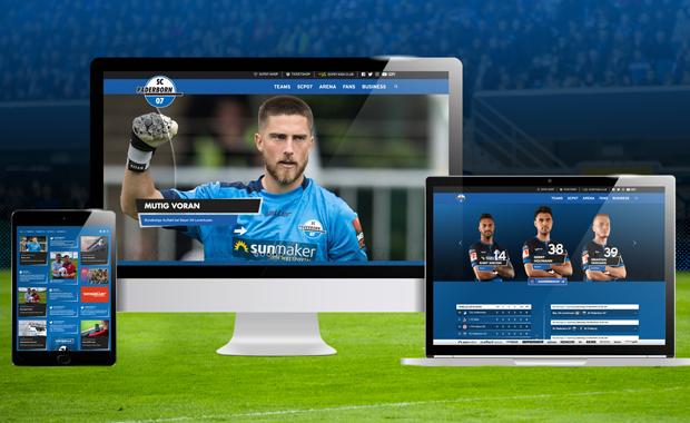 Druckindustrie: Als Exklusiv-Partner realisiert RLS seit Jahren den digitalen Auftritt des Fußball-Bundesligisten SC Paderborn. Die neue responsive Website ist gerade online gegangen, ebenso ist die dazugehörige Smartphone-App bereits verfügbar.