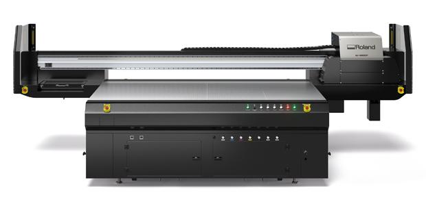 UV-LED-Flachbettdrucker IU-1000F Roland DG Großformatdruck Flachbettdrucker