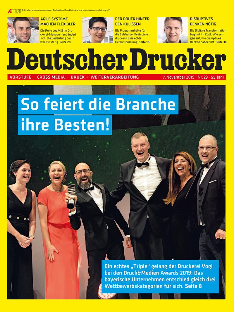 Produkt: Deutscher Drucker 23/2019 Digital