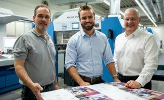 Druckerei Siepmann investiert in Rapida 106 von Koenig & Bauer Offsetdruck Bogendruck Bogenoffset