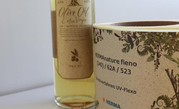 Herma Nature Fieno Etikettenmaterial aus Graspapier Etikettendruck