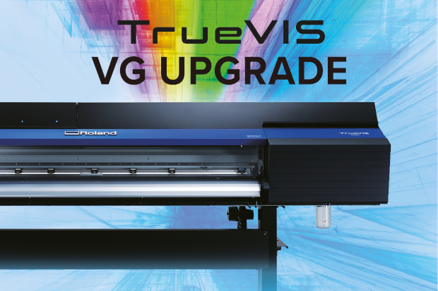 Roland DG Upgrade fuer TrueVIS-VG Großformatdruck Schneideplotter