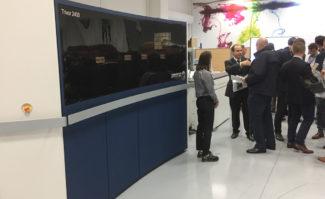 Trivor 2400 Inkjet Innovation Center Xerox Aubagne Digitaldruck