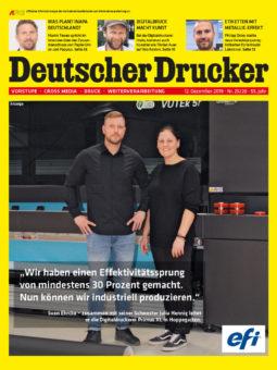 Produkt: PDF-Download: Deutscher Drucker 25-26/2019