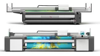 swissQprint Rollendruck Flachbettdruck Großformatdruck Inkjet Digitaldruck