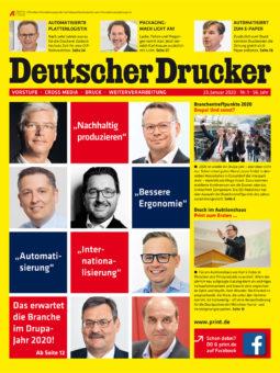 Produkt: PDF-Download: Deutscher Drucker 1/2020