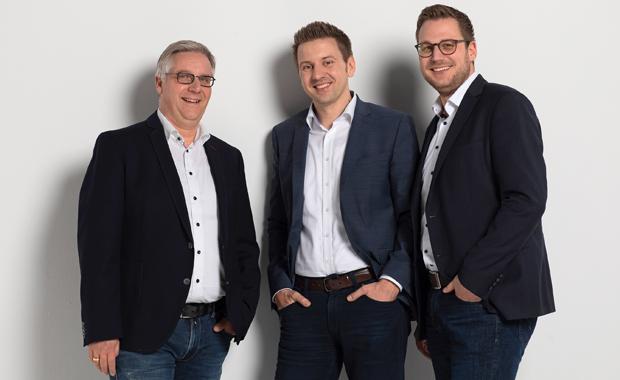 """Geschäftsführung: Das """"neue"""" Geschäftsführer-Trio bei Laudert (v.l.): Jörg Rewer, Sven Henckel und Holger Berthues."""