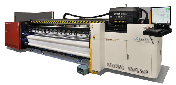 Agfa Graphics Oberon RTR3300 Großformatdruck Inkjet Rollendruck LED-UV UV-Druck