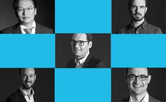 Druckindustrie: Neu in die Geschäftsleitung bei Apollon berufen (von links oben nach rechts unten): Xuetao Li, Christian Bodem, Matthias Stäcker, Tobias Marks und Benjamin Steinbach.
