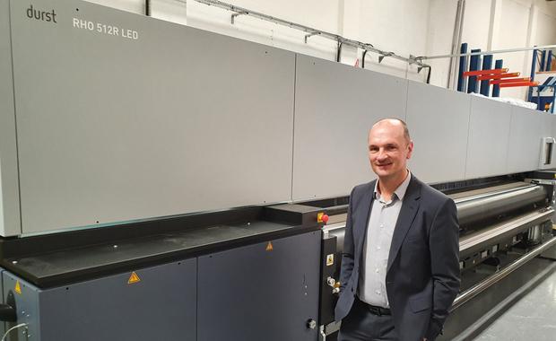 Aurora Graphics investiert in Durst Rho LED 510 R Mike Stearn Großformatdruck Digitaldruck Inkjet Inkjetdruck