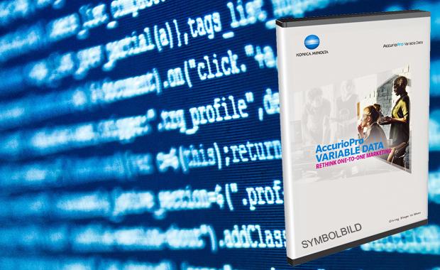 Konica Minolta Accurio Pro Variable Data Variabler Datendruck Digitaldruck Kopie