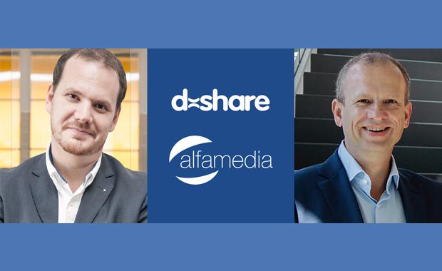 Tageszeitungen: Setzen zukünftig auf enge Kooperation: Alessandro Vento (CEO von D-Share, links) und Alfa-Media-Chef Jens Emmerich.