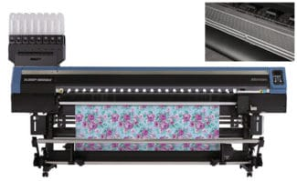 Mimaki Textil-Hybriddrucker TX300-1800MKII Textildruck Textildirektdruck Sublimationsdruck Transferdruck Digitaldruck Inkjet