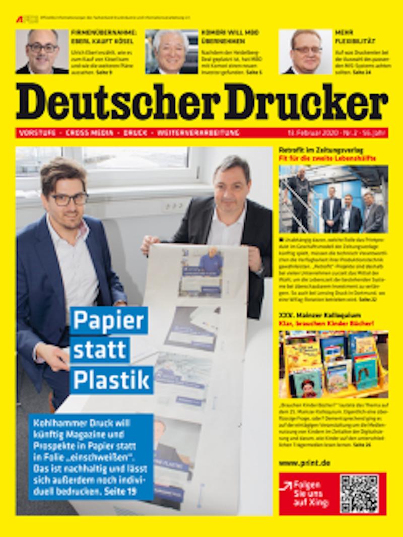 Produkt: Deutscher Drucker 2/2020 Digital