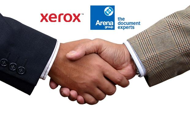 Xerox hat die britische Arena Group übernommen