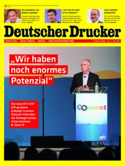 Produkt: Deutscher Drucker 3/2020