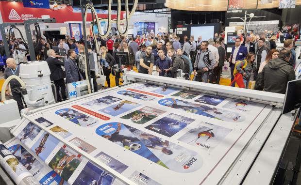 Fespa Digitaldruck Großformatdruck Inkjet Textildruck